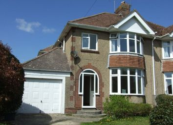 Thumbnail 3 bed semi-detached house to rent in South Court Avenue, Dorchester