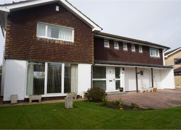 Thumbnail 4 bed detached house for sale in Westaway Close, Yatton