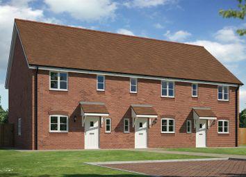 Thumbnail 3 bedroom terraced house for sale in Plot 3, 62A The Wheatlands, Baschurch, Shrewsbury