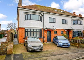 Thumbnail 3 bedroom flat for sale in Swinburne Avenue, Broadstairs, Kent