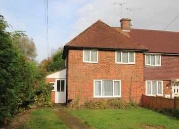 Thumbnail 3 bed semi-detached house for sale in Shepherds Cottages, Causton Road, Cranbrook, Kent