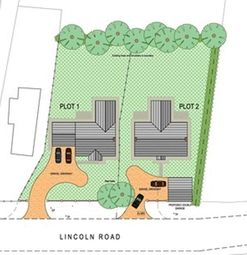 Thumbnail Land for sale in Lincoln Road, East Barkwith, Market Rasen