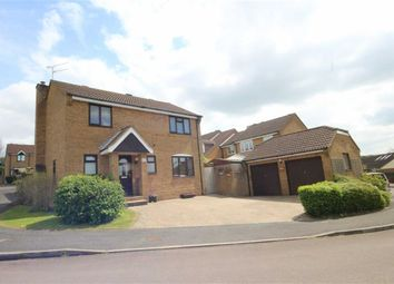 Thumbnail 4 bedroom detached house for sale in Angus Close, Ramleaze, Swindon