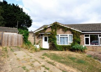 Thumbnail 2 bed semi-detached bungalow for sale in Central Avenue, Woodford Halse, Northants