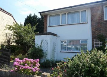 Thumbnail 2 bed flat for sale in Langbury Lane, Ferring, Worthing, West Sussex