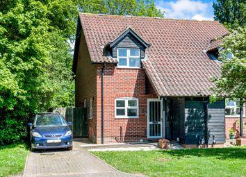 Thumbnail 2 bed semi-detached house for sale in Hazelwood, Elmsett, Ipswich
