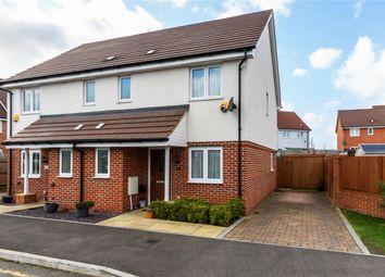 3 bed semi-detached house for sale in Halcrow Avenue, Dartford, Kent DA1