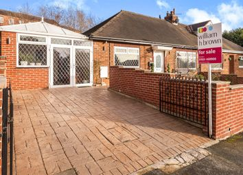 Thumbnail 2 bed semi-detached bungalow for sale in Laithe Croft Road, Batley