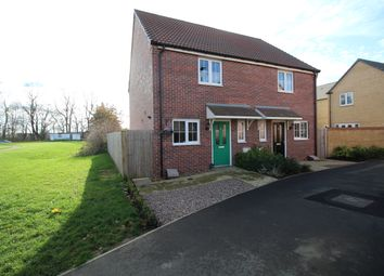 Thumbnail 2 bed semi-detached house for sale in Cornflower Crescent, Barleythorpe, Oakham