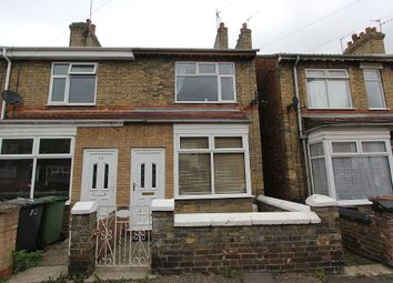 Thumbnail 2 bedroom end terrace house for sale in Belsize Avenue, Peterborough, Cambridgeshire