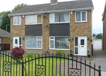 Thumbnail 4 bed semi-detached house for sale in Nunroyd, Heckmondwike, West Yorkshire.