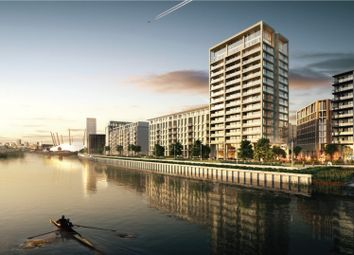 Thumbnail 2 bed flat for sale in Park View Place, Royal Wharf