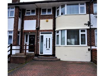 Thumbnail 3 bed terraced house for sale in Elmore Road, Luton
