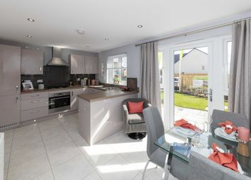 "Thumbnail 3 bedroom semi-detached house for sale in ""Traquair"" at Greystone Road, Kemnay, Inverurie"
