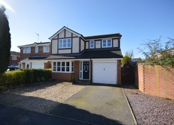 Thumbnail 4 bedroom detached house for sale in Ludlam Close, Countesthorpe, Leicester