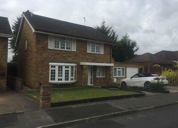 Thumbnail 4 bed detached house to rent in Curtis Road, Hornchurch