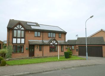 Thumbnail 4 bed detached house for sale in Holbeach Drive, Walton, Chesterfield