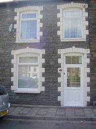 Thumbnail 3 bed terraced house to rent in Weston Terrace, Ynyshir, Porth