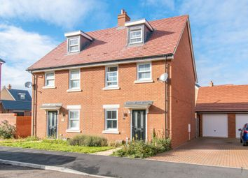 Thumbnail 3 bed semi-detached house for sale in Mersey Road, Biggleswade