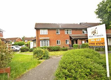 Thumbnail 1 bedroom end terrace house to rent in Elthorne Way, Newport Pagnell, Milton Keynes, Bucks