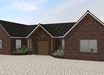Thumbnail 4 bedroom detached house for sale in Badley Road, Great Waldingfield, Sudbury