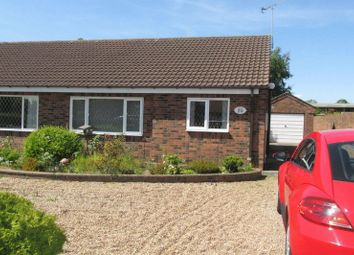Thumbnail 2 bed semi-detached bungalow to rent in Field Road, Crowle, Scunthorpe