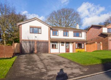 Thumbnail 5 bed detached house for sale in Rockfield Glade, Parc Seymour, Penhow, Caldicot