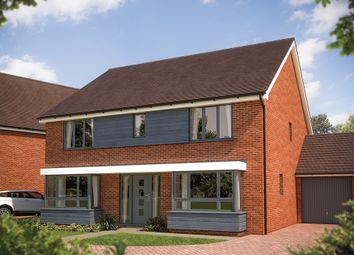 "Thumbnail 5 bed detached house for sale in ""The Winchester"" at Fields Road, Wootton, Bedford"