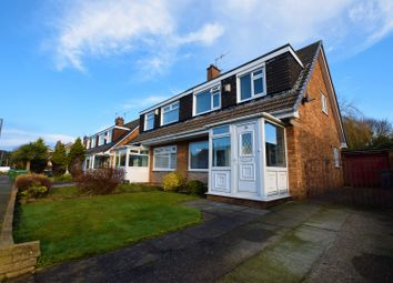 Thumbnail 3 bed semi-detached house for sale in Overton Way, Prenton