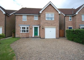Thumbnail 4 bed detached house for sale in St. Georges Green, Goole