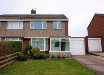 Thumbnail 3 bed semi-detached house for sale in Linden Way, Gateshead