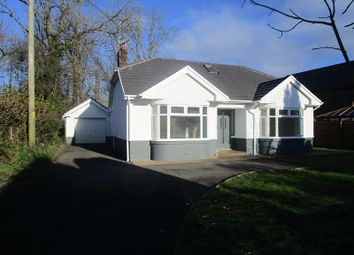Thumbnail Detached bungalow for sale in Gurnos Road, Ystradgynlais, Swansea.