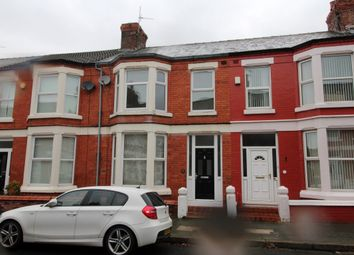Thumbnail 3 bed terraced house to rent in Fallowfield Road, Wavertree