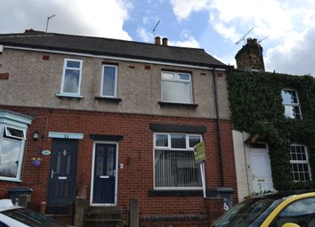 Thumbnail 2 bed terraced house to rent in Cross Street, Greasbrough, Rotherham