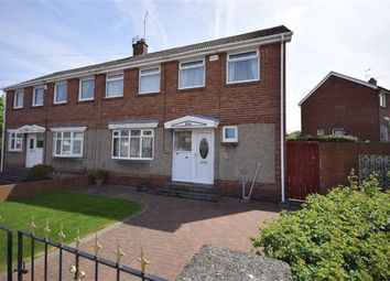 Thumbnail 3 bed semi-detached house for sale in Hindmarch Drive, West Boldon, East Boldon