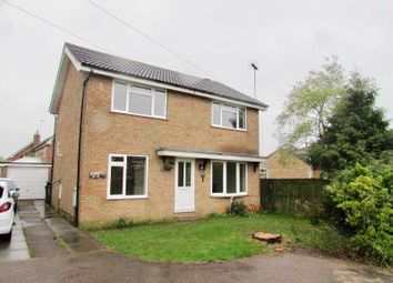 Thumbnail 4 bed detached house to rent in Demswell, Brixworth, Northampton