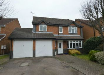 Thumbnail 4 bedroom detached house for sale in Emperor Way, Whetstone, Leicester