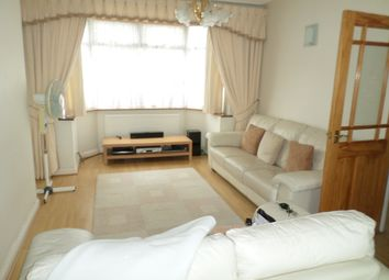 Thumbnail 4 bed terraced house to rent in Grassmere Avenue, Wembley