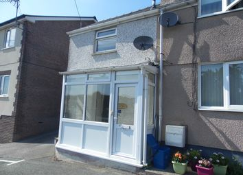 Thumbnail 1 bed end terrace house to rent in Pentai, Glan Conwy