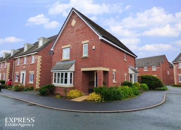 Thumbnail 4 bed detached house for sale in Bramblewood Close, Overton, Wrexham