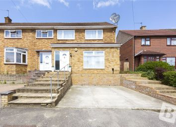 Thumbnail 3 bed end terrace house for sale in Montgomery Crescent, Romford