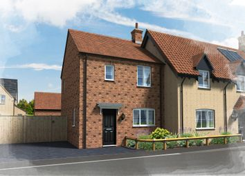 Thumbnail 2 bed semi-detached house for sale in Hill Close, Brington