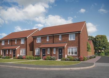 """Thumbnail 3 bed end terrace house for sale in """"The Hanbury"""" at Forge Wood, Crawley"""
