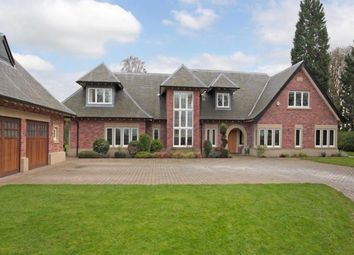 Thumbnail 6 bed detached house for sale in Chelford Road, Alderley Edge, Cheshire