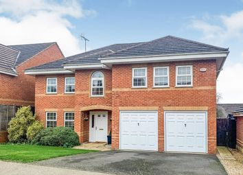 Thumbnail 5 bed detached house for sale in Spartan Close, Wootton, Northampton