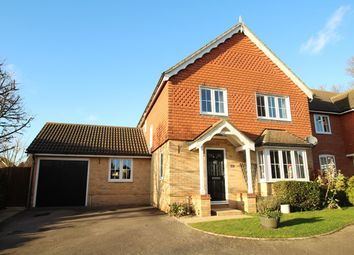 Thumbnail 4 bedroom detached house for sale in Dove Gardens, Stowmarket