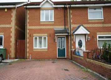 Thumbnail 2 bed semi-detached house to rent in Oakthorn Grove, Haydock, St. Helens