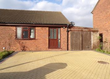 Thumbnail 2 bed bungalow for sale in Warren Avenue, Leicester