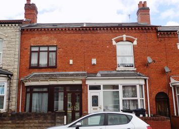 Thumbnail 3 bed terraced house for sale in Hillfield Road, Sparkhill, Birmingham