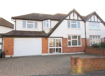 Thumbnail 4 bed semi-detached house for sale in Hayes Crescent, North Cheam, Sutton